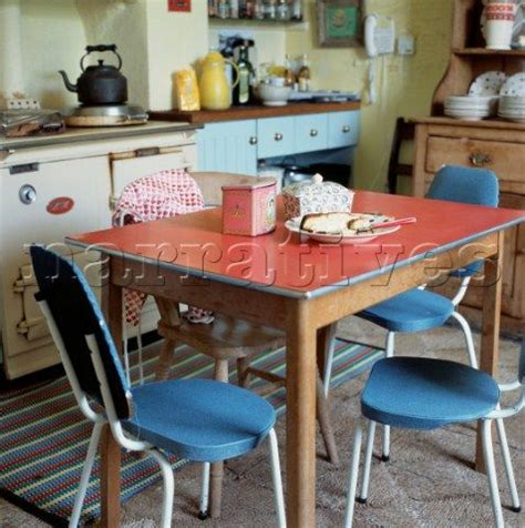 Blue Formica Kitchen Table by Bridgewater 1960s Formica Kitchen Table And
