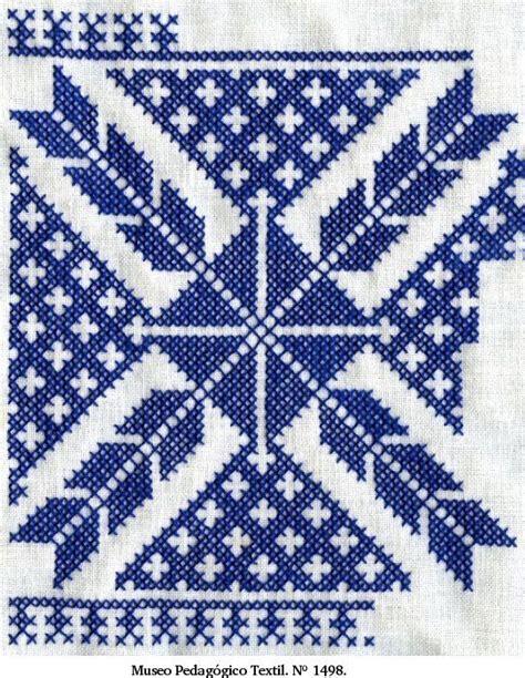 cenefas geometricas punto de cruz bordado vasco espa 241 a bordado de espa 241 a pinterest