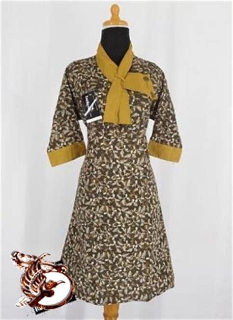 Baju Batik Dress Batik Murah Ratu Bunga Batik