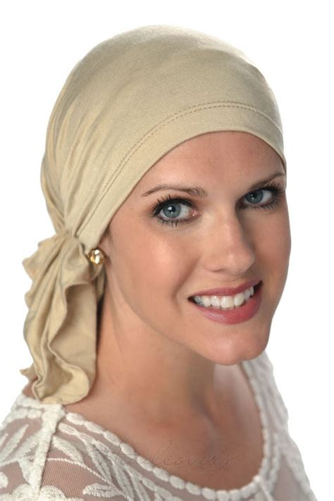 pre chemo slip on scarf pre tied head scarves for women cancer
