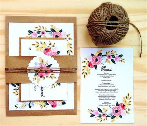 printable wedding invitation set instant download