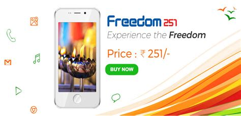 Smartphone Bell Freedom ringing bell freedom 251 smartphone launched for rs 251