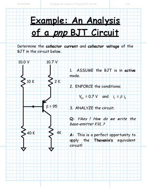 transistor npn explication transistor pnp analisis 28 images resistors applying hybrid pi model of an npn bjt to a pnp