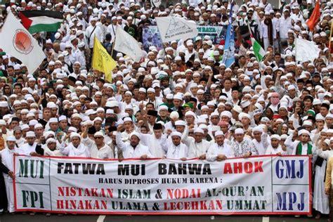 ahok quran ormas islam demo ahok foto 13 1672662 tribunnews com