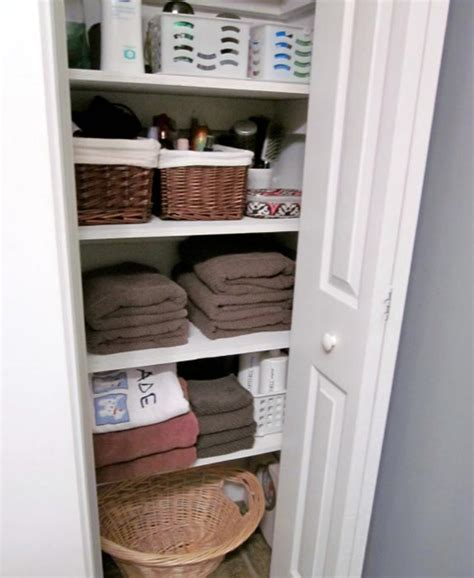 bathroom linen closet organization ideas tips of using linen closet organizers ideas advices