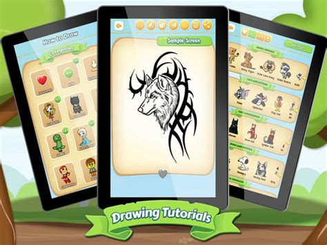 tattoo hero app app shopper drawing ideas tattoo wolves entertainment