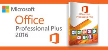 Ms Officer Microsoft Office 2016 Professional Plus On Software Pc