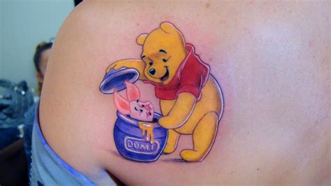 pooh bear tattoos tattoos designs ideas and meaning tattoos for you