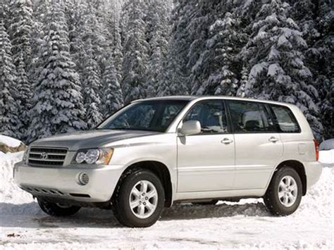 2002 toyota highlander | pricing, ratings & reviews