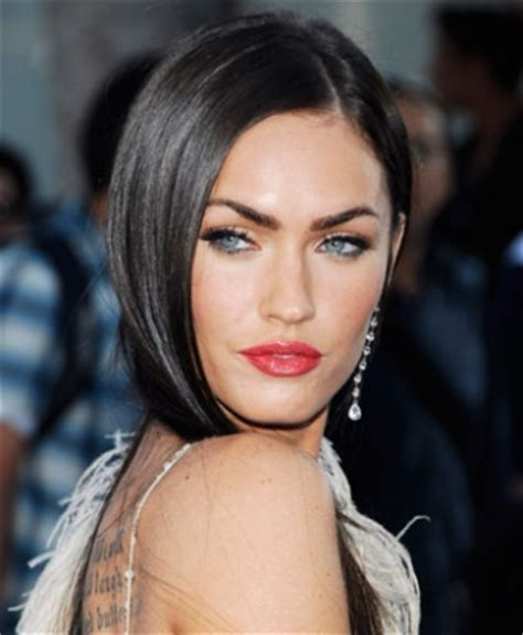 megan foxs makeup how to get her skin bold lip exact look fashion and makeup get megan fox s eye makeup look