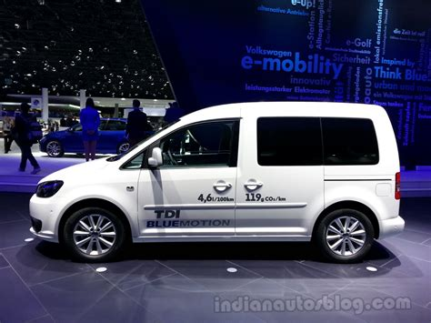 volkswagen caddy 2014 2014 vw caddy bluemotion debuts at 2013 frankfurt motor show