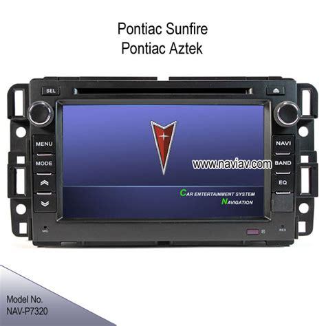 pontiac sunfire stereo pontiac sunfire pontiac aztek oem stereo radio auto dvd