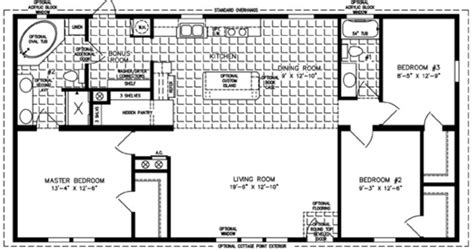 3 Bedroom Rv Floor Plan | 3 bedroom mobile home floor plan bedroom mobile homes