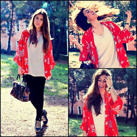 Dilara Navy Top dilara k 246 seler kimono lookbook