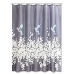 dusch vorhang duschvorhang kolibri grau 180x200 cm duschvorh 228 nge