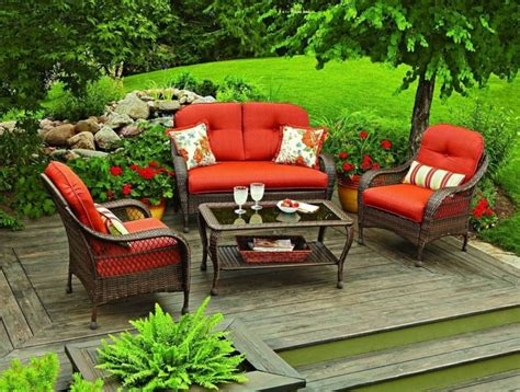 Better Homes And Gardens Patio Furniture Replacement Cushions Better Homes And Gardens Outdoor Furniture Better Homes And Gardens Azalea Ridge Ottomans Set Of