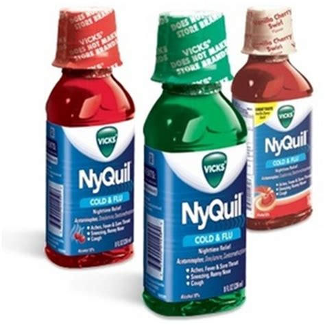 Vicks NyQuil Cold & Flu Relief Liquid Medicine Reviews ? Viewpoints.com
