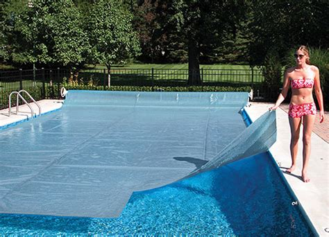 Solar Blanket Pool Cover by 12x24 Rectangle Clear Inground Swimming Pool Solar