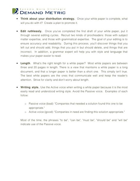 White Paper Template Microsoft Word White Paper Template