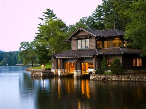 beside lake modern wooden house design olpos design lake house design with beautiful landscape