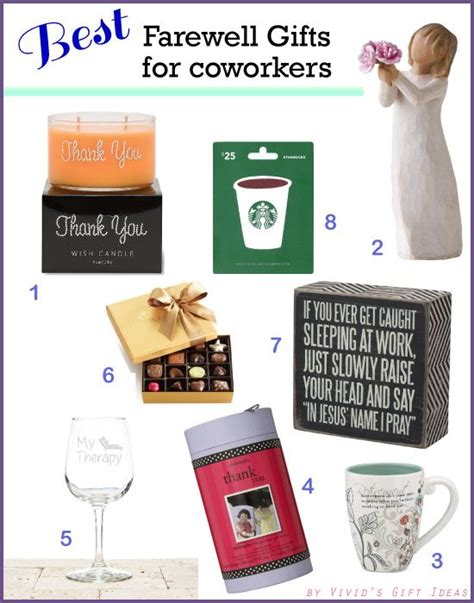 top 8 farewell gift ideas for coworker updated may 2017