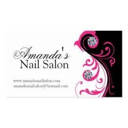 nail salon business card stylish nail salon business cards zazzle