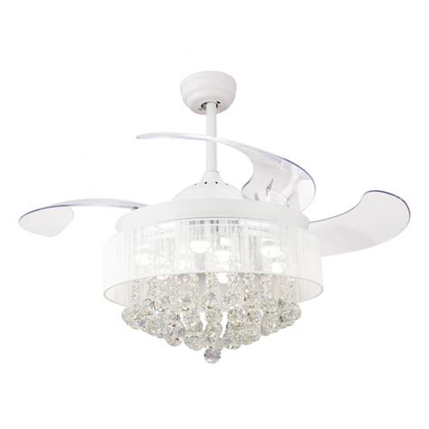 46 inch ceiling fan 46 inch modern led chandelier white ceiling fan