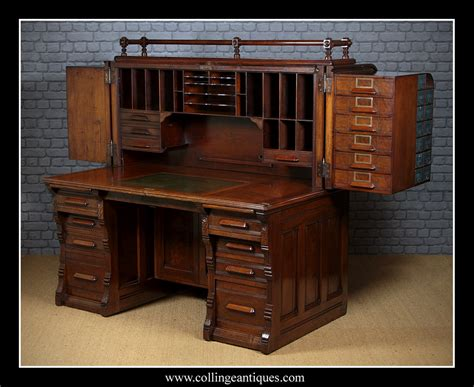 antique roll top desk manufacturers indianapolis cabinet company roll top desk collinge