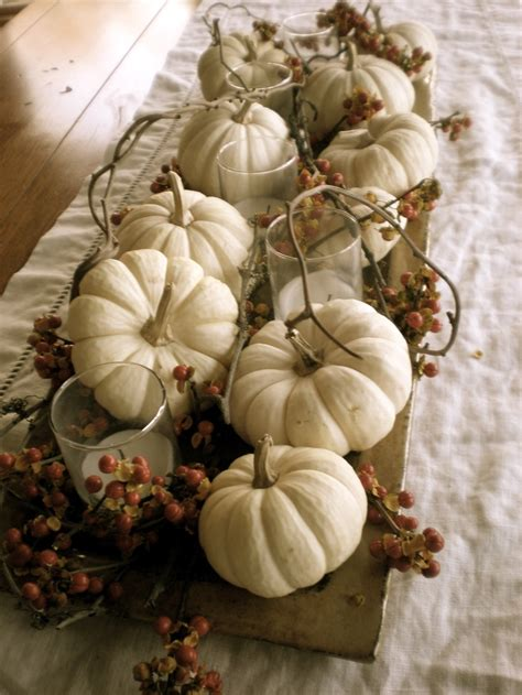 Cheap Shabby Chic Home Decor 40 Amazing Fall Pumpkin Centerpieces Digsdigs
