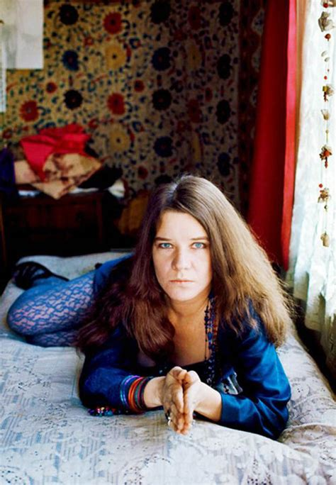 fascinating color photographs  janis joplin    vintage everyday