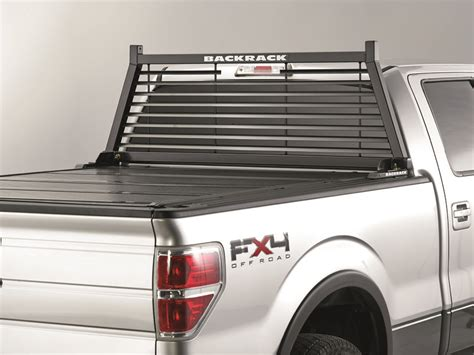 Truck Cab Rack by Backrack Louvered Headache Rack Frame Truck Cab Protector