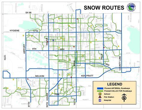 longmont co map snow routes city of longmont colorado
