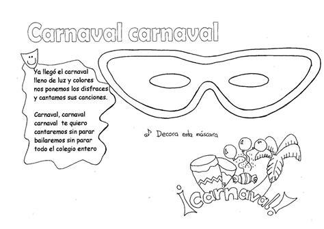 letras canciones para el carnaval 2014 view image material de isaac para educacion especial fichas para