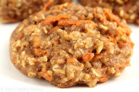 carrot cake oatmeal cookies amy s healthy baking