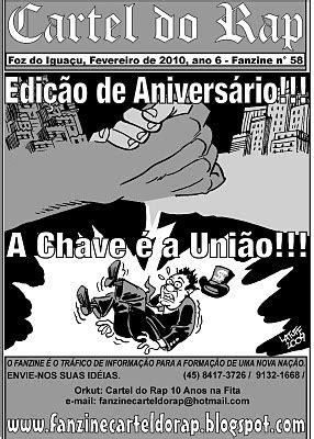 PESCADOR DE PALAVRAS: O ZINE DO CARTEL DO RAP COMPLETOU 05