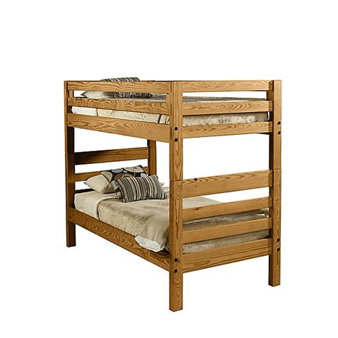 Bunk Beds With Ladder On The End The Official This End Up Classic Ladder End Convertible