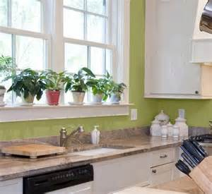 kitchen wall colors light green and white molding