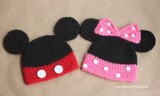 Mickey Mouse Crochet Hat Patterns Free » Ideas Home Design