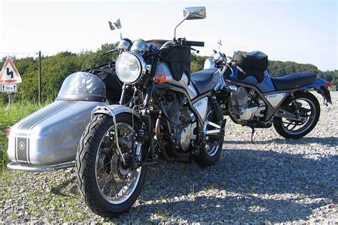 Motorrad Gespann Im Winter by On Road Motorrad Motorr 228 Der Yamaha Srx600 Tt600
