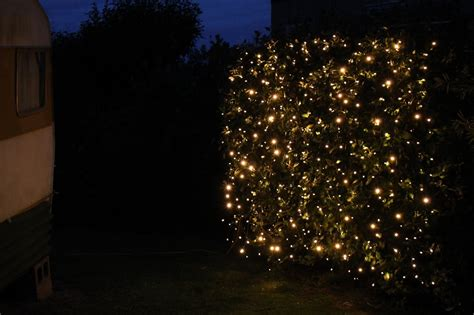 Fairies Light Curtain Lights 2m X 3m Black Cable Led