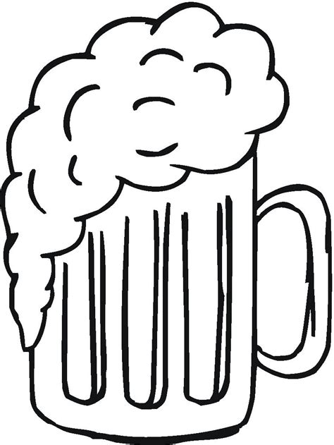 cartoon beer black and white beer mug card splitcoaststers
