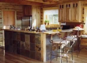 Rustic Cabin Kitchen Cabinets San Juan Rustic Cabin Kitchen