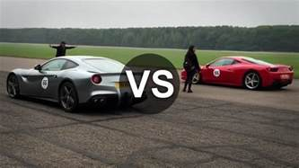 F12 Vs F12 Berlinetta Vs 458 Italia Mclaren Mp4