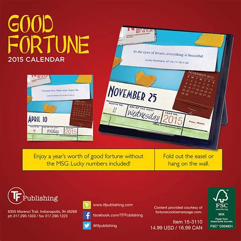 Fortune Calendar Fortune 2015 Desk Calendar 9781579003814