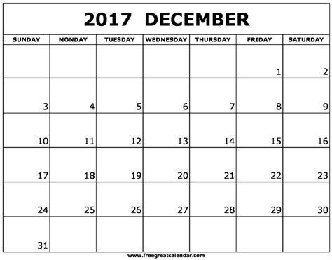 printable december 2017 calendar vertical blank december 2017 calendar printable