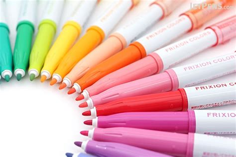 Colored Marker Pen pilot frixion colors erasable marker 24 color bundle