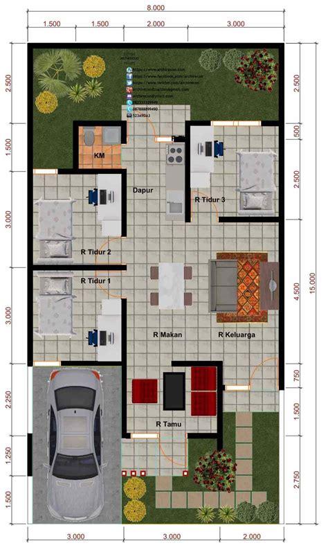jenis rumah  lantai ukuran   terbaru