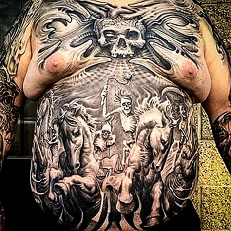 four horsemen tattoo tattoospedia