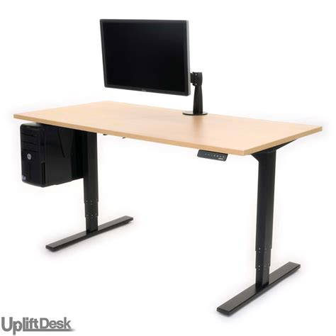 standup desk uplift height adjustable sit stand desk the human solution