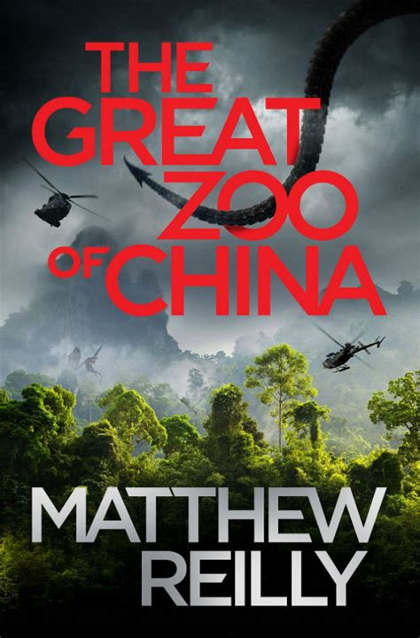 great zoo  china  matthew reilly book review